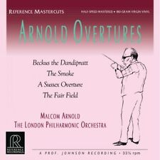 MALCOLM ARNOLD - OVERTURES - REFERENCE RECORDINGS - RM1518 - ARNOLD LPO