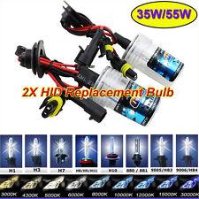 2PCS H7 6000K Car HID Xenon Replacemet Headlights Bulbs H1 H3 H8/9/11 9005/9006