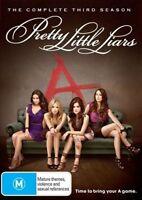 Pretty Little Liars : Season 3 (DVD, 2013, 6-Disc Set) very good condition
