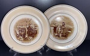 WINTON GRIMWADES 2 Souvenir of The Great War Plates Bairnsfather Ware