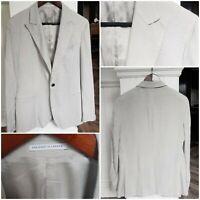 """Reiss mens 'Tremor' grey peaked-lapel jacket (40"""") - RRP £225"""