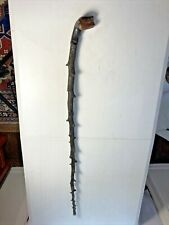 New listing Antique Blackthorn Shillelagh Irish Walking Stick with Knobby Handle