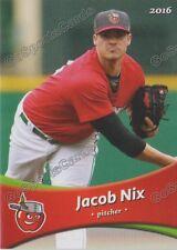 2016 Fort Wayne Tin Caps Jacob Nix RC Rookie Padres Minor