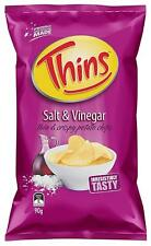 Thins Salt & Vinegar, 12 x 90g - FAST SHIP