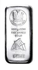 Silberbarren Silbermünzbarren 1000 Gramm 1000g Fiji Argor Heraeus 2015 10$ 1 kg