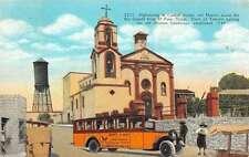 Ciudad Juarez Chihuahua Mexico tourists Mission Guadalupe antique pc Y13633