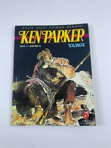 KEN PARKER #1 Turkish Comic Book 2000s Very Rare BERARDI MILAZZO 1st Issue