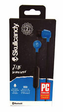 Skull Candy Jib Wireless Rechargeable Earbuds w/ In-Line Mic, Assorted Colors