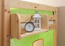 Einhängeregal für Kinderbetten Kiefer natur verschiedene Größen