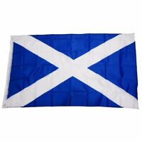 Special Offer Scotland National Flag (St Andrew) 5ft x 3ft X3T1
