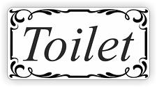 Auto Adhesivo Baño Puerta Firmar Pegatina de vinilo, Calcomanía Cuarto de Baño WC