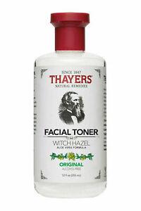 Thayers Original Witch Hazel with Aloe Vera Formula Toner 12oz 330ml New Stock