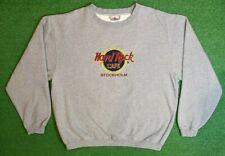vintage hard rock cafe hong kong china heathered gray sweatshirt *a0316*
