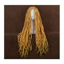 Lord of the Rings The Hobbit Elf Galadriel long flaxen wavy cosplay full wig