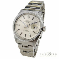 ROLEX DATE OYSTER PERPETUAL VINTAGE STEEL AUTOMATIC WRISTWATCH MODEL NO. 1500