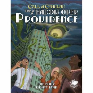 CALL OF CTHULHU RPG 7TH SHADOWS OVER PROVIDENCE NEW IN STOCK