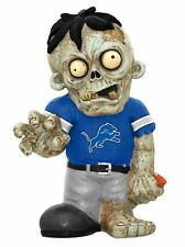 Detroit Lions - ZOMBIE - Decorative Garden Gnome Figure Statue NEW