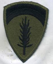 Vietnam Era US Army Europe OD Subdued Patch Cut Edge