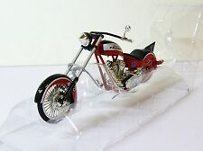ERTL Collectibles NFL Atlanta Falcons Bike OCC Chopper 1/18 Diecast Model NEW