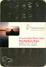 Hahnemuhle Photo Rag Baryta 315gsm post Card Tin - 30 cards