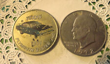 Commerative large/dollar size /heavy medal/Token /1971 Duster  #58