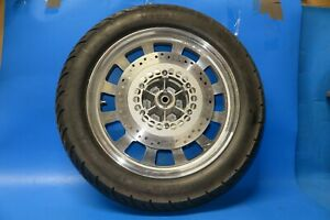 Keeway Superlight 125 Front wheel complete in silver with disc and tyre