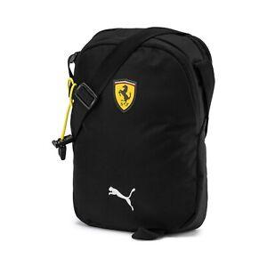 Puma X Ferrari Fanwear Portable Bag One Size Adjustable Strap Mini Bag Black