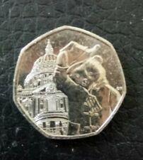 2019 UNCIRCULATED PADDINGTON BEAR AT ST PAULS CATHEDRAL 50P COIN