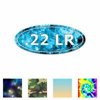 Ammo .22 LR - Vinyl Decal Sticker - Multiple Patterns & Sizes - ebn1041