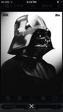Topps Star Wars Digital Card Trader Reflective Gloss Darth Vader Insert Award