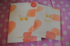 kikki-K BE BRAVE DIY STICKER BOOK AND B5 PRINTED NOTEPAD Lot! NEW!
