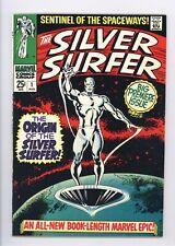 Silver Surfer #1 Vol 1 Beautiful High Grade Origin of the Silver Surfer 1968