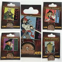 Pirates of the Caribbean: At World's End The Legend Lives On Disney Pins 58495-9