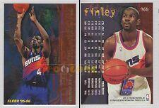 NBA FLEER 1995-1996 SERIES 2 - Michael Finley, Suns # 360 - Mint