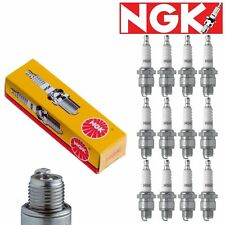 12 pcs NGK Standard Plug Spark Plugs 1966-1972 Lamborghini Miura 3.9L 4.0L V12