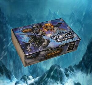 World of Warcraft - Scourgewar Icecrown Booster Box - TCG CCG Trading card game