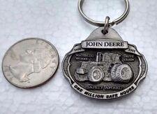 John Deere Key Chain 1990/91 Waterloo Works 1 Million Safe Hours Employee Only