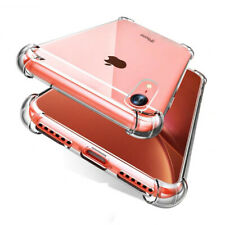 For iPhone XR XS Max Case Clear Crystal ShockProof Hard PC Thin Protective Cover
