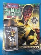 DC COMICS SUPER EROE FIGURA Collezione Edizione 28 SINESTRO Eaglemoss Magazine