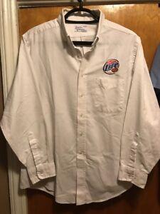 MILLER BREWING Milwaukee ~ 2XL ~ LITE BEER VINTAGE L/SLV Delivery Work Shirt