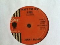 JIMMY  McGRIFF     45  SINGLE,      THAT,S THE WAY I FEEL   /     M. G.  BLUES