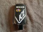 Molson Ice Lucite Tap Handle ~ Hologram Detail ~ Perfect for the Man Cave!