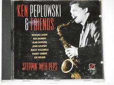 Ken Peplowski & Friends-STEPPIN 'with Peps-CD