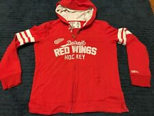 NHL Detroit Red Wings Womans M Hoodie Red A2