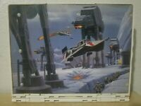 Vintage 1996 Star Wars Micro Machines Action Fleet Ice Planet Hoth Playset