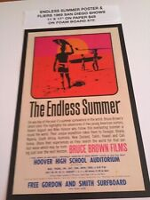 Endless Summer 1965 San Diego Movie Posters 11 X 17�