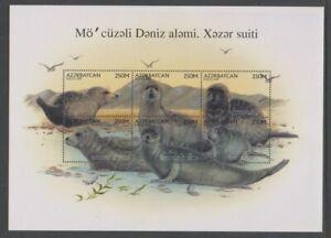 Azerbaijan - 1997, Caspean Seal sheetlet - MNH - SG 399/404