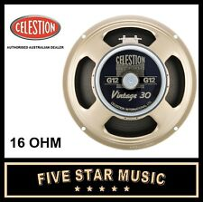 "CELESTION VINTAGE 30 12"" GUITAR SPEAKER 16 OHM V30 LOUDSPEAKER V-30 G12 - NEW"