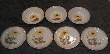 New listing Rare Vtg Montrose Stoneware Hand Painted Oven Proof 7 Piece Lot 4 Plates 3 Bowls