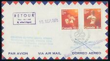 MayfairStamps Canada 1975 Flight Covers to Previous Olympic Sites Olympic Games